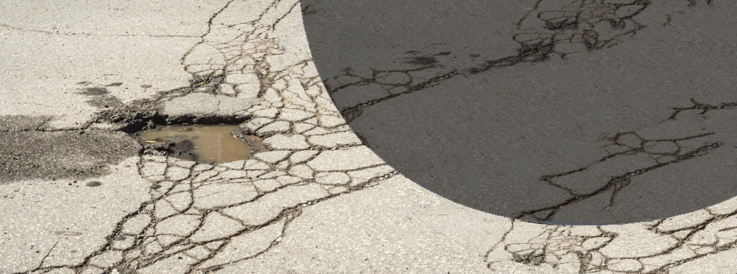 Potholes and the damage they cause