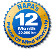 NAPA Warranty (Hebb's Automotive)